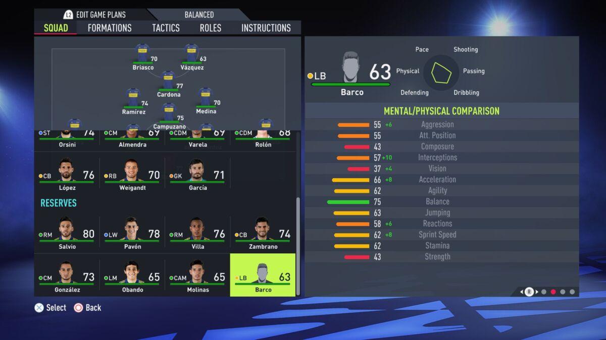 Valentín Barco FIFA 22
