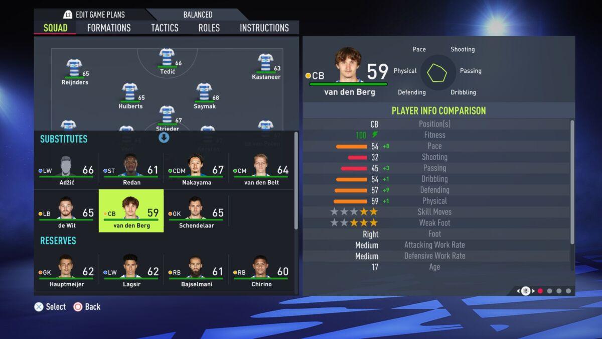 Van Den Berg FIFA 22