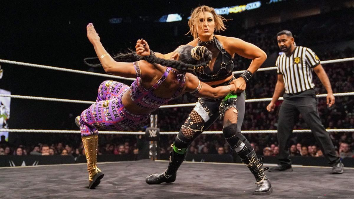Rhea Ripley vs Bianca Belair