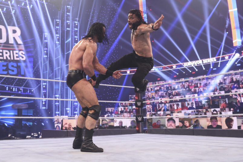 Roman Reigns vs Drew McIntyre
